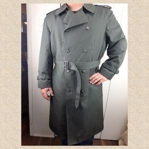 🔥 London fog men trench coat excellent!